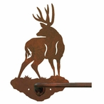 "29"" Mule Deer Metal Towel Bar"