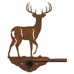 "29"" Whitetail Deer Metal Towel Bar"