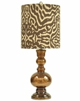 "30"" Tanzinc Table Lamp"