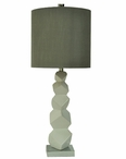 "33"" Block Table Lamp"