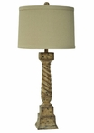"35"" French Post Table Lamp"