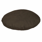 "35"" Passion Suede Hershey Round Pet Bed"