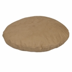 "35"" Tan Simply Soft Round Pet Bed"
