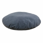 "36"" Fleece Charcoal Round Pet Bed"