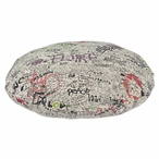 "36"" Just the Facts Quiet Round Pet Bed"