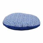 "36"" Oskar Terrace Sea Round Pet Bed"