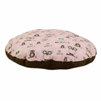 "36"" Owl Hooty Bella Cozy Round Pet Bed"