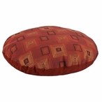 "36"" Rena Cinnabar Round Pet Bed"