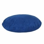 "36"" Royal Blue Round Pet Bed"