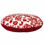 "36"" Suzani Lipstick Four Piece Round Pet Bed"