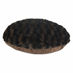 "36"" Taline Fur Round Pet Bed"