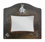 "5"" x 7"" Burnished Deer Metal Picture Frame"