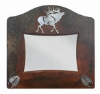 "5"" x 7"" Burnished Elk Metal Picture Frame"