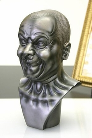 A Strong Man Portrait Bust by Messerschmidt