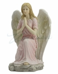 Angel Kneeling and Praying Sculpture