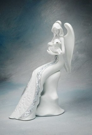 Angel of Affection Porcelain Figurine