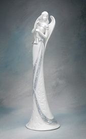 Angel of Celebration Porcelain Figurine