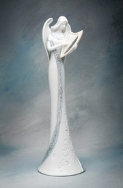 Angel of Harmony Porcelain Figurine