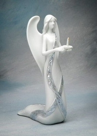 Angel of Light Porcelain Figurine