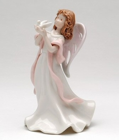 Angel of Peace Porcelain Figurine Sculpture