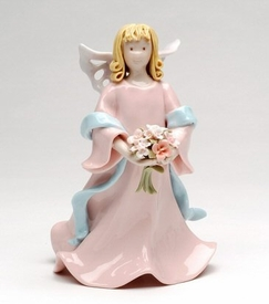 Angel of Promise Porcelain Figurine