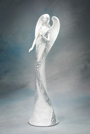 Angel of Romance Porcelain Figurine