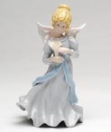 Angel of Tranquility Porcelain Figurine Sculpture