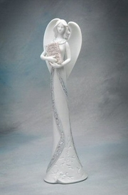 Angel of Wisdom Porcelain Figurine Sculpture
