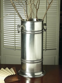 Antique Silver Umbrella Stand