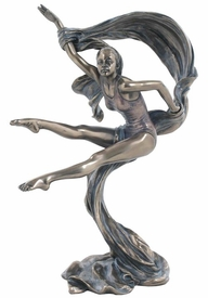 Art Dancer Lifting Right Hand Sculpture