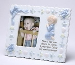 Baby Boy Porcelain Picture Frame