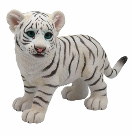 Baby White Tiger Sculpture