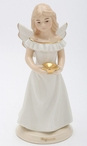 Baptism Angel Porcelain Figurine Sculpture