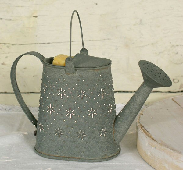 Barn Roof Garden Watering Can Electric Wax Warmer