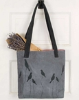 Birds on a Branch Canvas Tote Bag