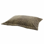 Bobcat Camel Flanged Pet Bed