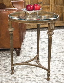 Bronze Acanthus End Table