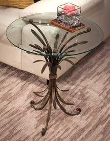 Bronze Wheat Table