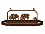 Buffalo on the Range Hanging Metal Pot Rack