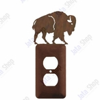 Buffalo Single Metal Outlet Cover