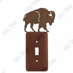 Buffalo Single Toggle Metal Switch Plate Cover
