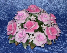 Capodimonte Flower Basket Centerpiece