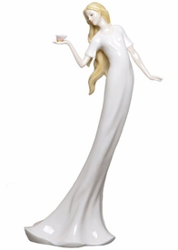 Carefree Slim Porcelain Figurine