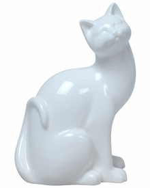 Cat Relaxing Sculpture