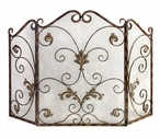 Catarina Iron Fireplace Screen