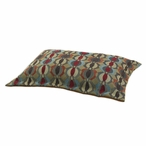 Colby Carnival Flanged Pet Bed