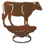 Cow Metal Bath Towel Ring