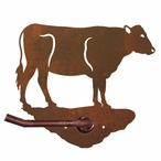 Cow Metal Toilet Paper Holder