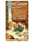 Custom Large Grand Canyon Boating Guide Vintage Style Wooden Sign