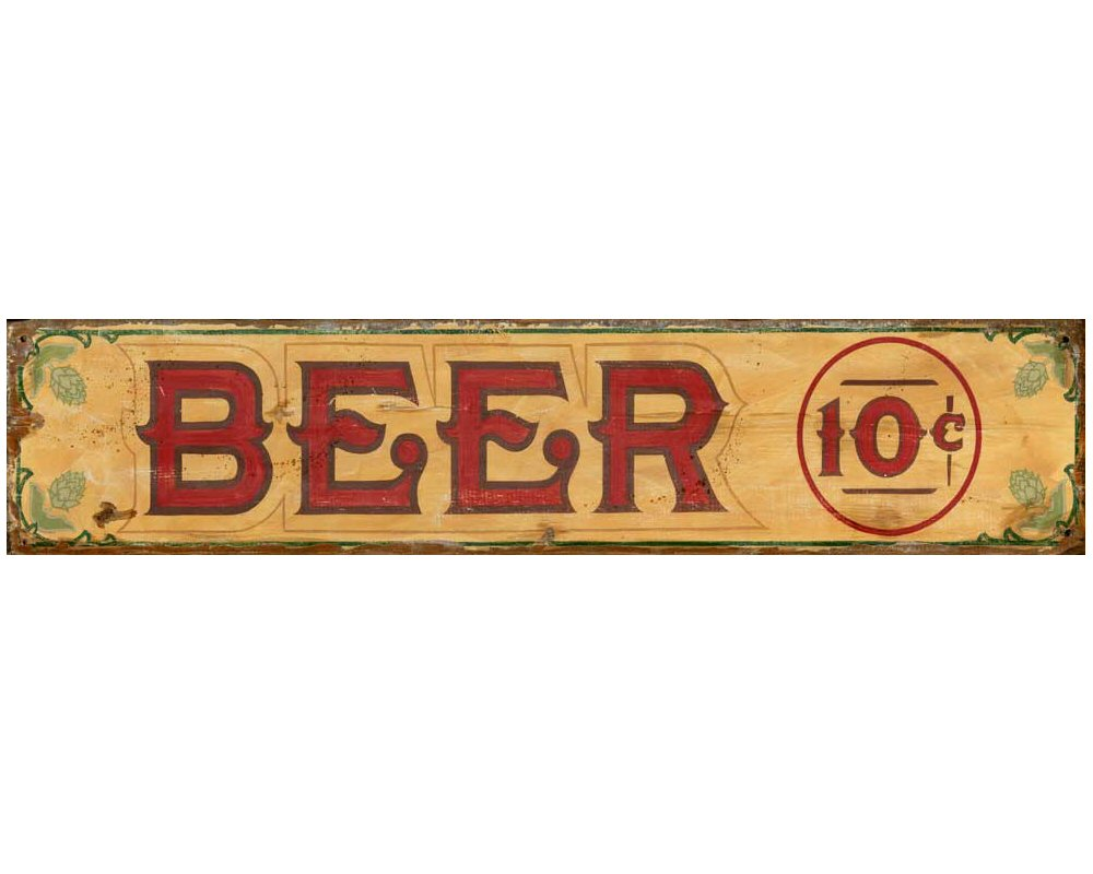 Beer Signs For Room Decor
